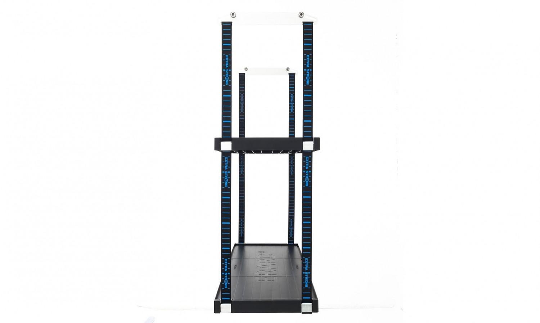 tag re mobile 2 plateaux pour rangement de garage lodus ref 51010. Black Bedroom Furniture Sets. Home Design Ideas