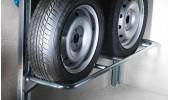 Porte 2 roues escamotable