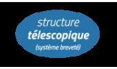 bulle telescopique