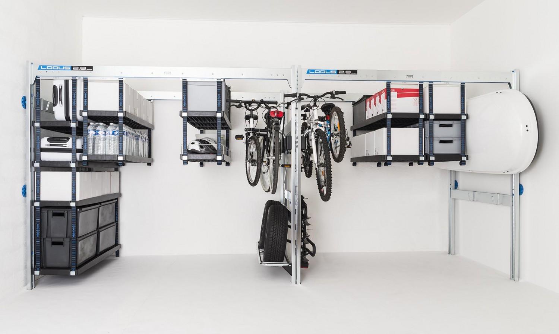 Kit de jonction 2 8 pour rangement de garage lodus ref 51087 for Lodus rangement garage