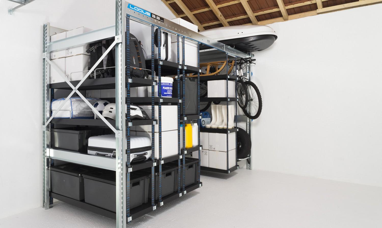 Pack universel l pour rangement de garage lodus ref 51112 for Lodus rangement garage