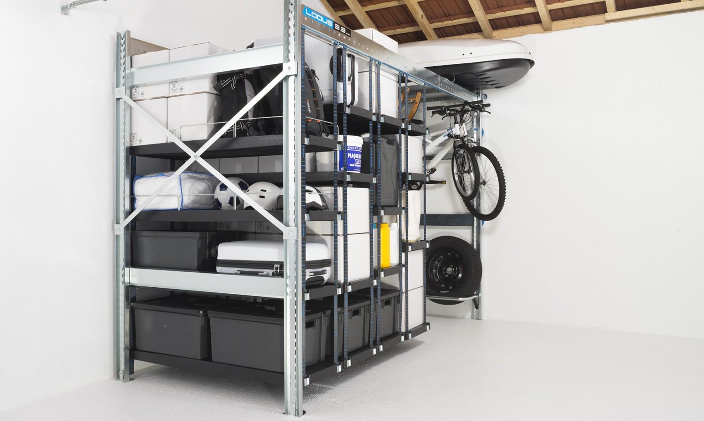 Pack universel l pour rangement de garage lodus ref 51113 for Lodus rangement garage