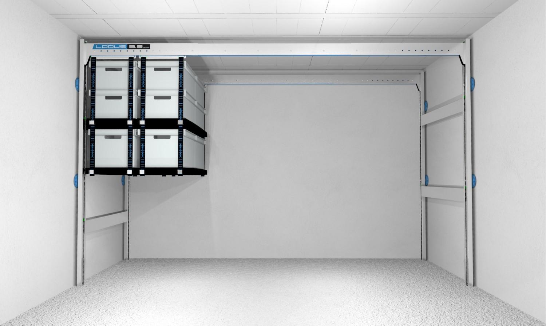 Pack universel m pour rangement de garage lodus ref 51110 for Lodus rangement garage