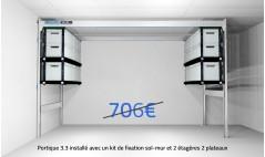 Offres packs lodus pour rangement du garage for Lodus rangement garage