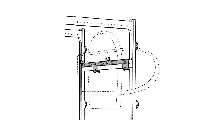 Porte Coffre De Toit Pour Rangement De Garage Lodus Ref
