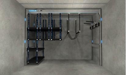 Packs famille lodus pour rangement du garage for Lodus rangement garage