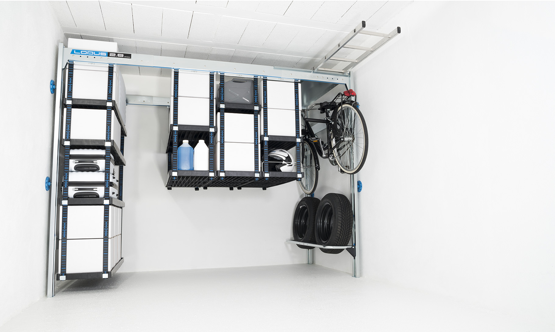Amenagement et agencement garage am nager son garage lodus - Systeme de rangement pour garage ...