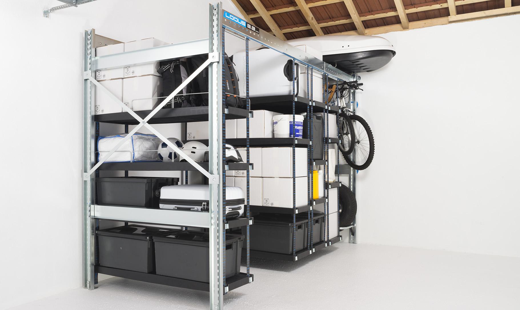 Ranger son garage en maison individuelle lodus - Garage pour amenagement voiture handicape ...