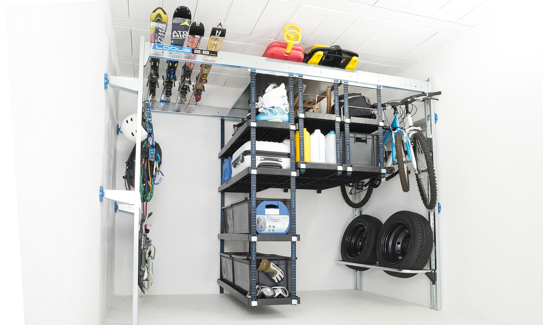 Comment Ranger Ses Chaussures comment ranger le garage d'un chalet de montagne ? - lodus