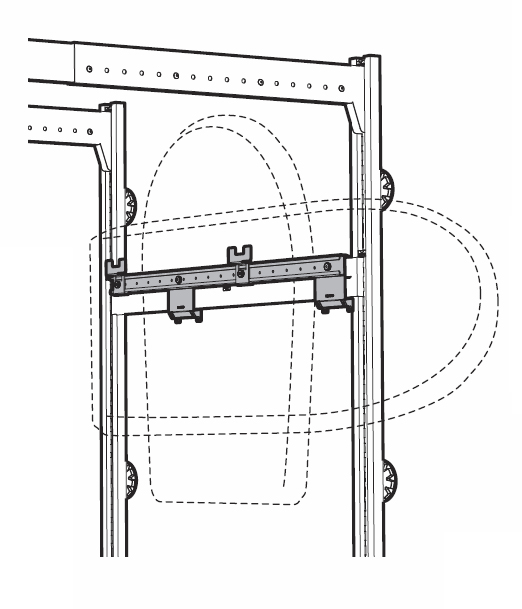 Schéma porte-coffre de toit Lodus