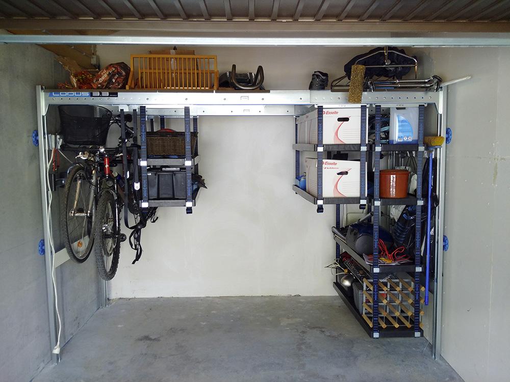 Avis clients lodus t moignages am nagement de garage lodus for Lodus rangement garage