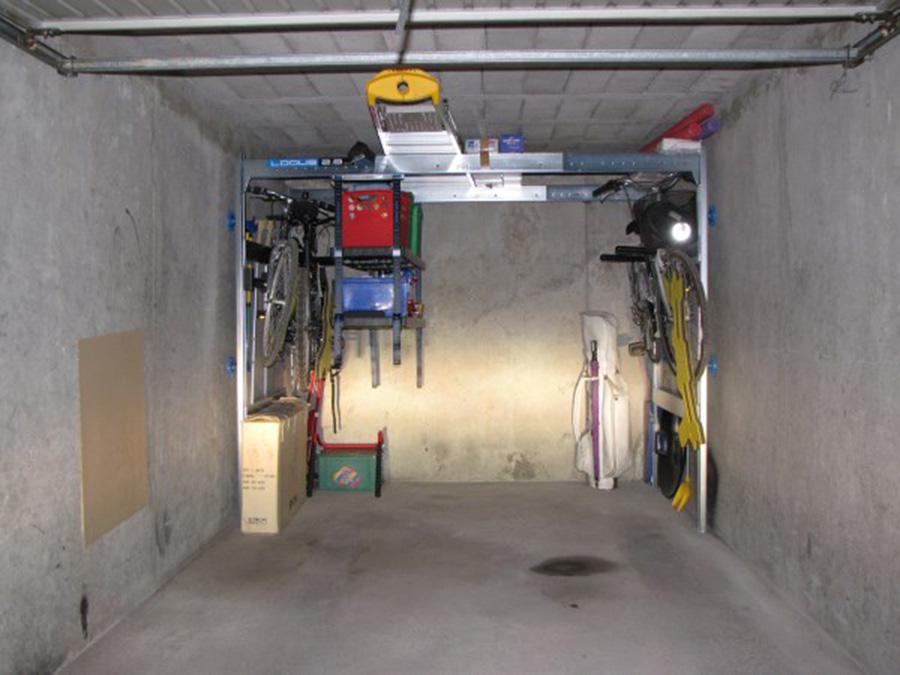 Avis clients lodus t moignages am nagement de garage lodus for Rangement au plafond garage