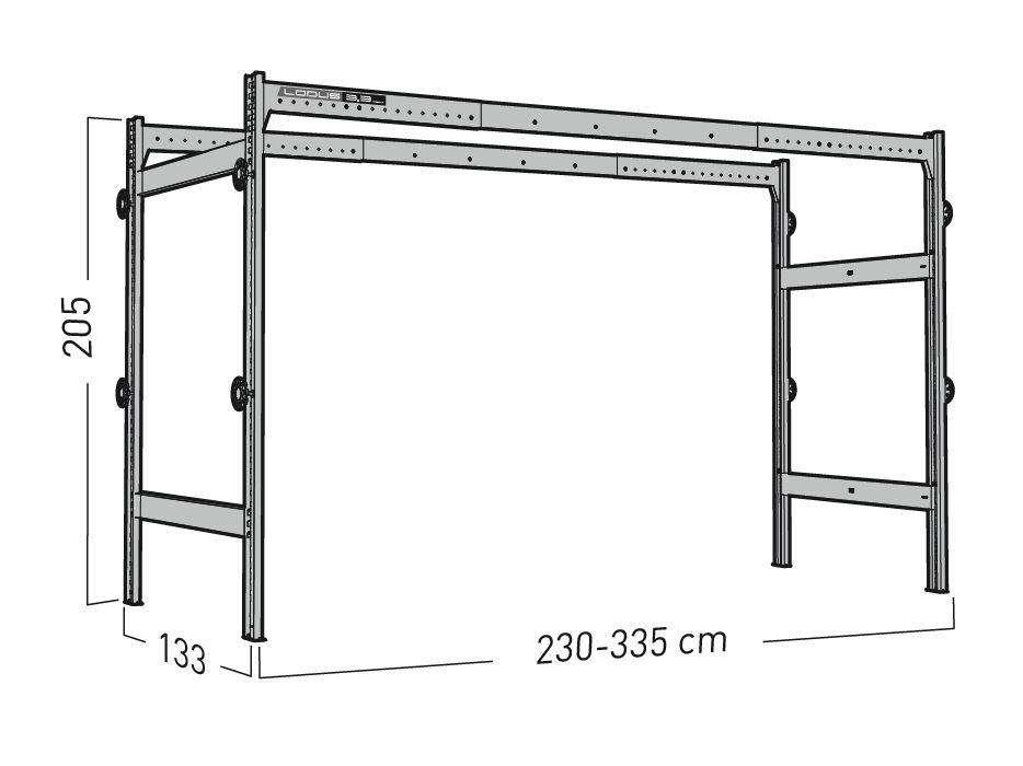 Lodus - portique 3.3